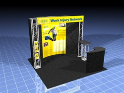 10x10 Custom Pop Up with Truss Display
