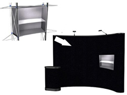 ENERGY Internal Curved Shelf - Center Quad