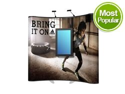 8ft XL Mount Pop Up Display Kit