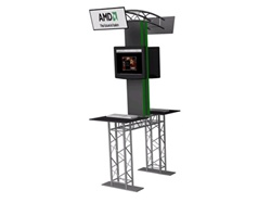 LATROBE Double Sided Truss Kiosk