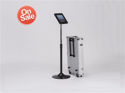 Secure Telescopic Tablet stand for information input