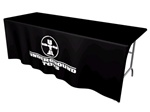 8ft Table DRAPE 1 Color - Top & Front