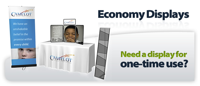 Economic Displays help your company look great on a tight budget