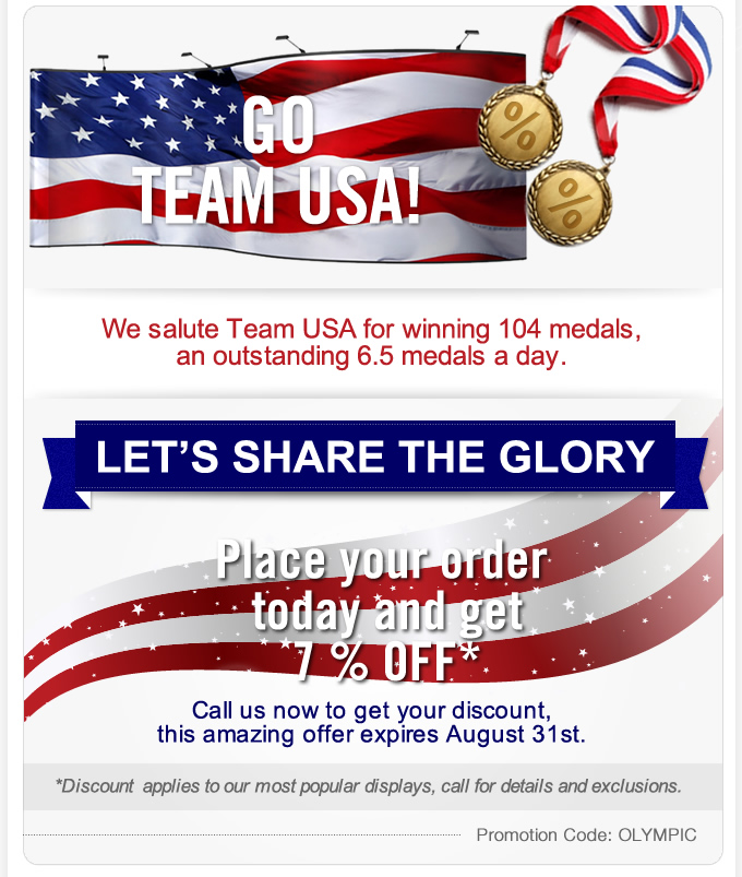 Olympic Medal Discounts