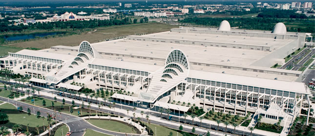 Orlando Florida Trade Show Displays Trade Show Information - Orange county convention center map