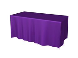 6ft 4 Sided DRAPED Table Throw