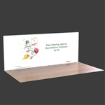 20ft Lumiwall LED Backlit Display with Printed SEG Fabric and (2) Shipping Cases
