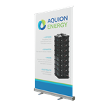 Retractable Bannerstand 1 47""