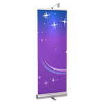 Retractable Bannerstand 1 24""