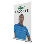 Retractable Double Sided Bannerstand 2 47.2""