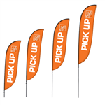 Brandstand Feather Flags