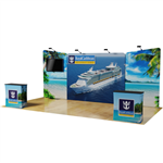 20ft Waveline Marlin MASTER Backwall Display Kit