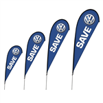 Brandstand Teardrop Flags