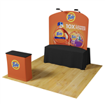 6ft Waveline Curved Table Top Display PRO Kit