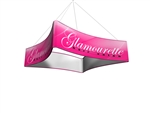 Blimp QUAD Curved Hanging Banner