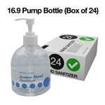Gel Hand Sanitizer Pump Bottle 16.9oz