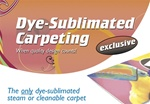 Dye-Sub Carpeting
