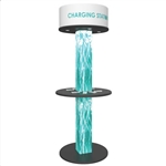 16-port Tension Fabric Round Charging Tower