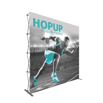 10ft Hopup Extra Tall Straight Tension Fabric Popup