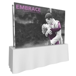 8ft Embrace Tabletop Straight SEG Fabric Pop Up