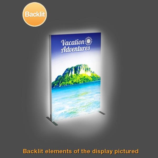 Backlit Vector Frame Fabric Light Boxes - 3