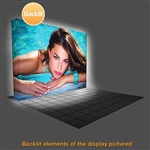 10ft VBurst 4x3 Flat BACKLIT Display