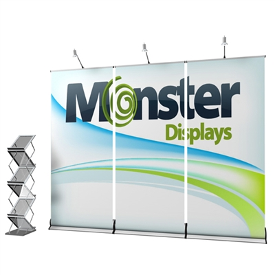 9ft Banner Wall Expo Set