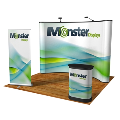 Show Ready KIT - Popup, flooring and banner