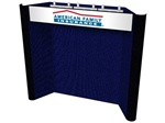 10ft SNOWBIRD Modular Fabric Backwall