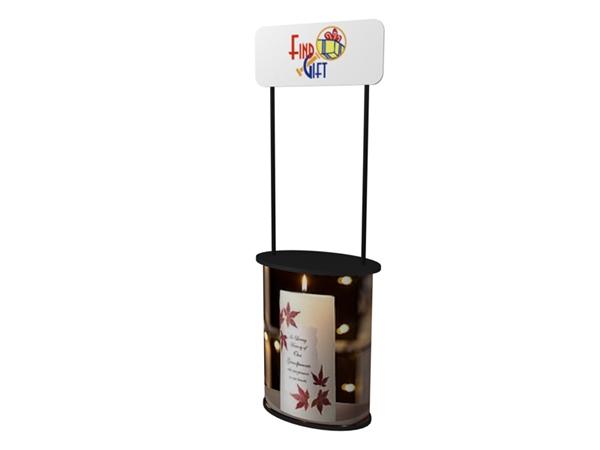 SOLO free standing Countertop displays