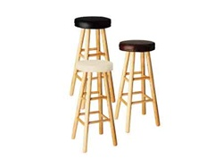 "30""H Soft Top Stool"