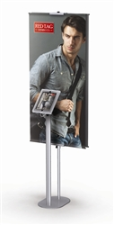 "24""W Hybrid Pro Tablet Banner Stand"