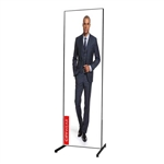 2ft Aspen T-Leg Double-Sided SEG Fabric Banner Stand
