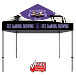 ONE CHOICE ® - 10 ft. Aluminum Canopy Tent Dye-Sub