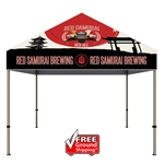 ONE CHOICE ® 10 ft. Steel Canopy Tent Dye-Sub