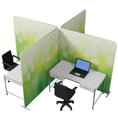 Waveline office partition Kit 1