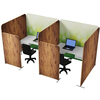 Waveline office partition Kit 2
