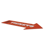 "72"" x 42"" Arrow Indoor Surface Grip Decals"