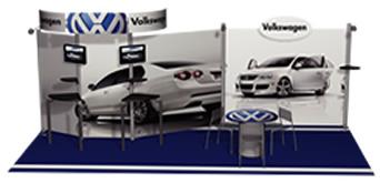Volkswagen Trade Show Display by Monster Displays