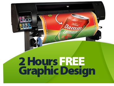 Complimentary 2 Hours of Free Graphic Design Consultation with your order!